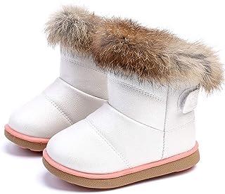 Niñita Botas Caliente Botas de Nieve de Las niñas Zapatos de Invierno al Aire Libre