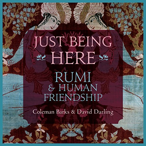Just Being Here audiobook cover art
