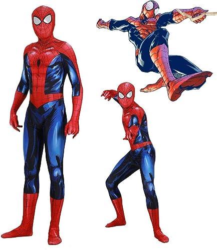 tienda de bajo costo Werty Cosplay Ropa Ropa Ropa Luminoso Traje De Cosplay De Spiderman Lycra Anime Costume 3D Impresión Digital Apretado De Navidad Halloween Disfraces para Adultos Desgaste XL  compras online de deportes