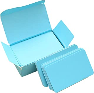 Elonglin 4 Boxes of Message Pads Cards Memo Books Notepads Scratch Pads Candy Colors Note Cards Blue