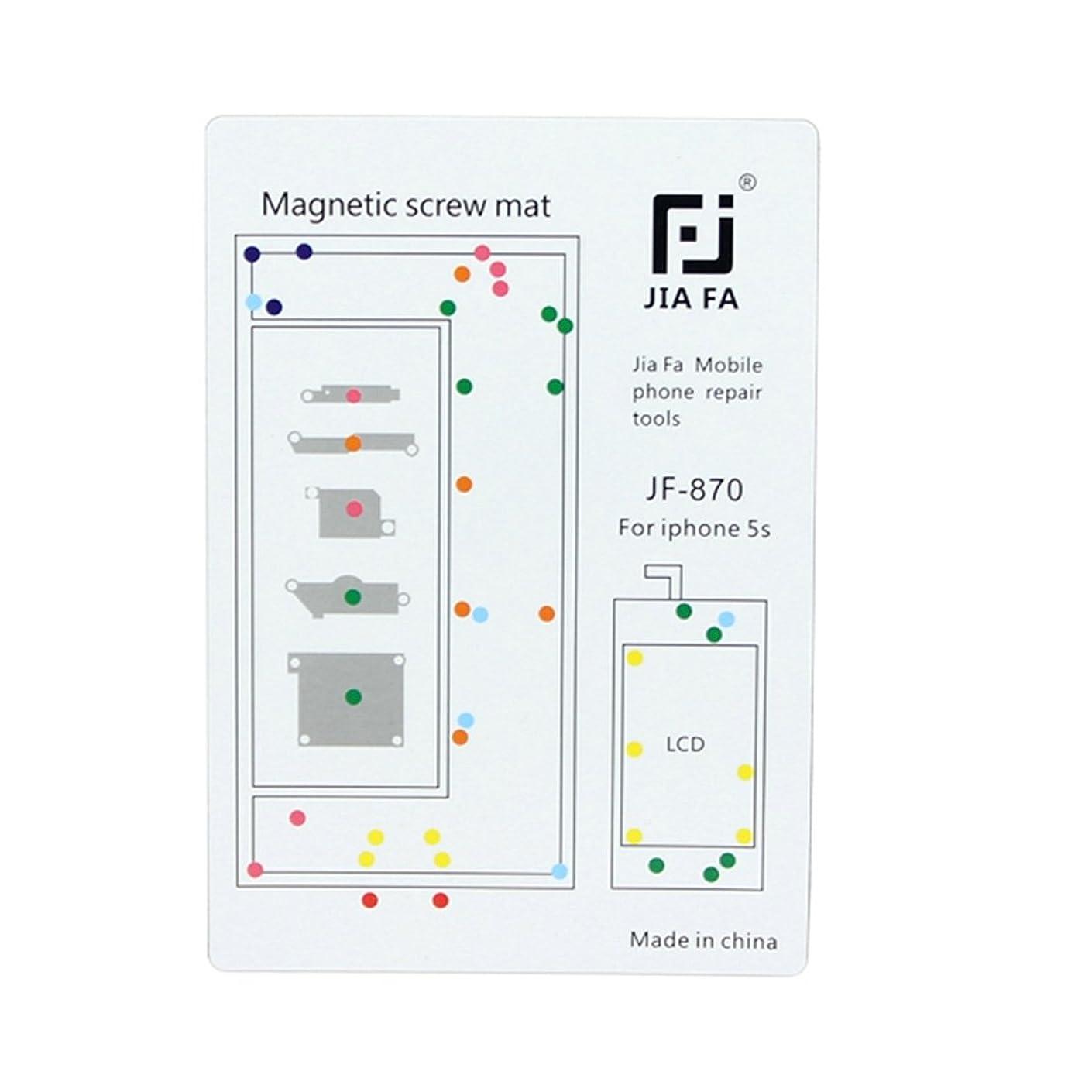 哲学者有名人コンプライアンスIPhone 5S用の優れた磁気ネジマット Lianz