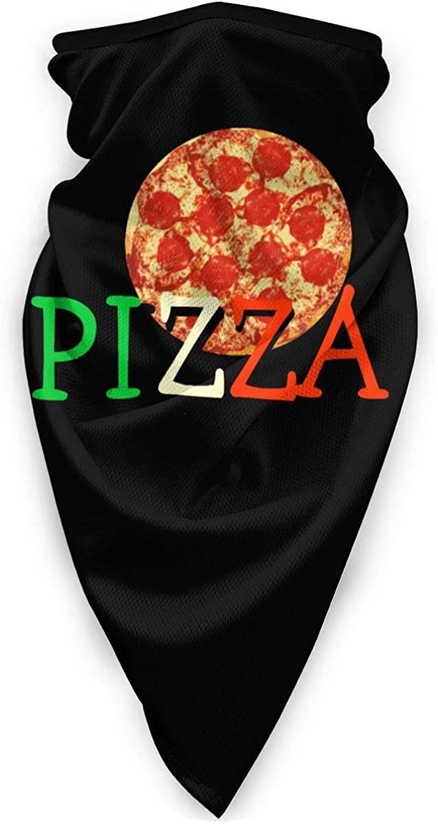 Pizza Master Chef Washable Dust Mask Cloth Balaclava Bandana Scarf Face Nose And Mouth