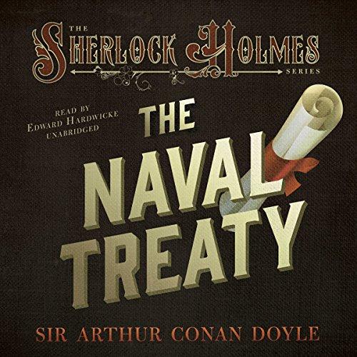 Sherlock Holmes: The Naval Treaty copertina