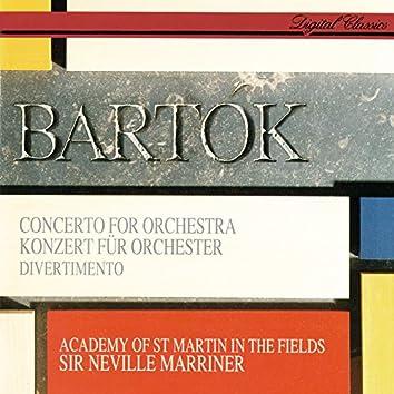 Bartók: Concerto For Orchestra; Divertimento