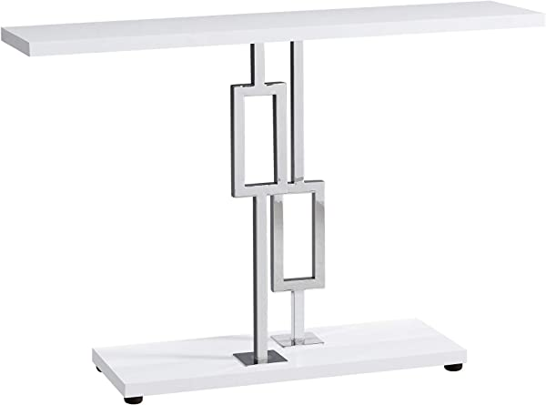 Monarch Specialties I I 3266 Accent Table White