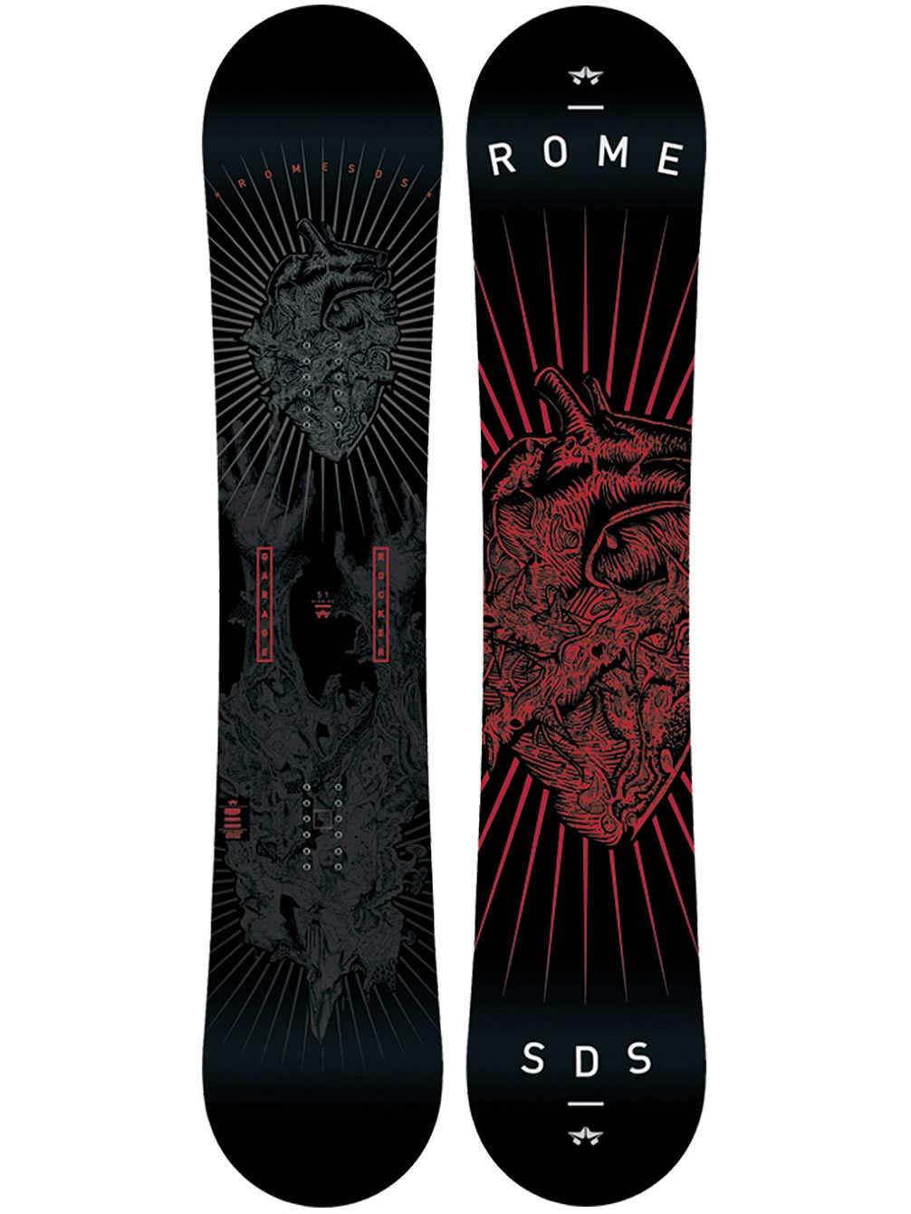 Hombre Freestyle Snowboard Rome Garage Rocker midwide 157 2016 multi-ed Talla:160W: Amazon.es: Deportes y aire libre