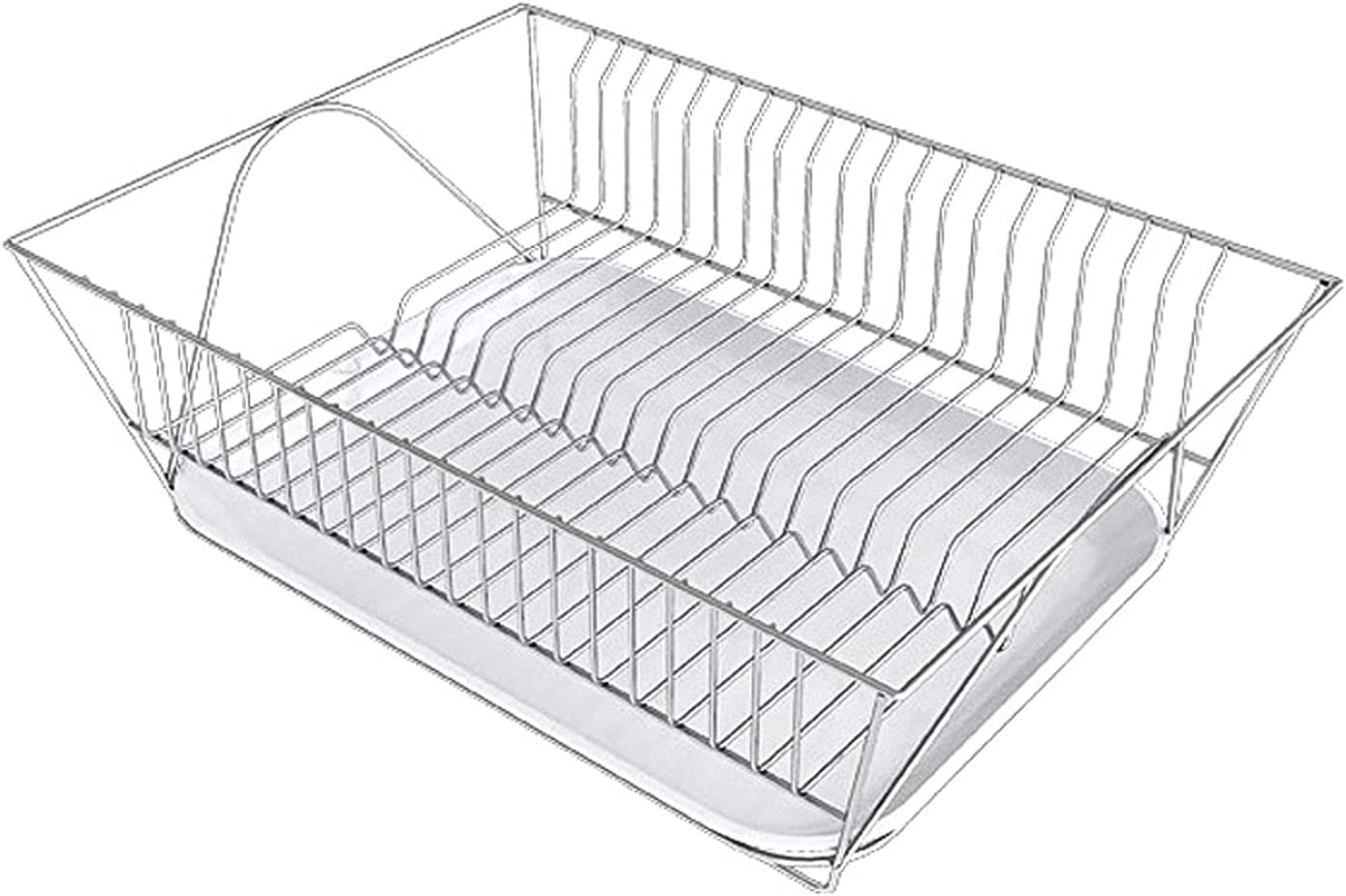 QYYYUNDING 304 Stainless Steel Dish With Drip Tra Sales results No. 1 Rack 1 year warranty Removable