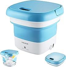Portable Mini Washing Machine for Clothes, Folding Automatic Laundry Machine, Lightweight Washer Travel Laundry Washer for...