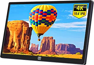 $309 » 15.6 Inch 4K Portable Monitor,Eleduino 3840×2160 UHD IPS USB C Mobile Display Gaming Monitor with Type-C Mini HDMI for Laptop PC MAC Phone Xbox PS4 Nintendo Switch