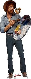 Advanced Graphics Bob Ross & Friend Life Size Cardboard Cutout Standup