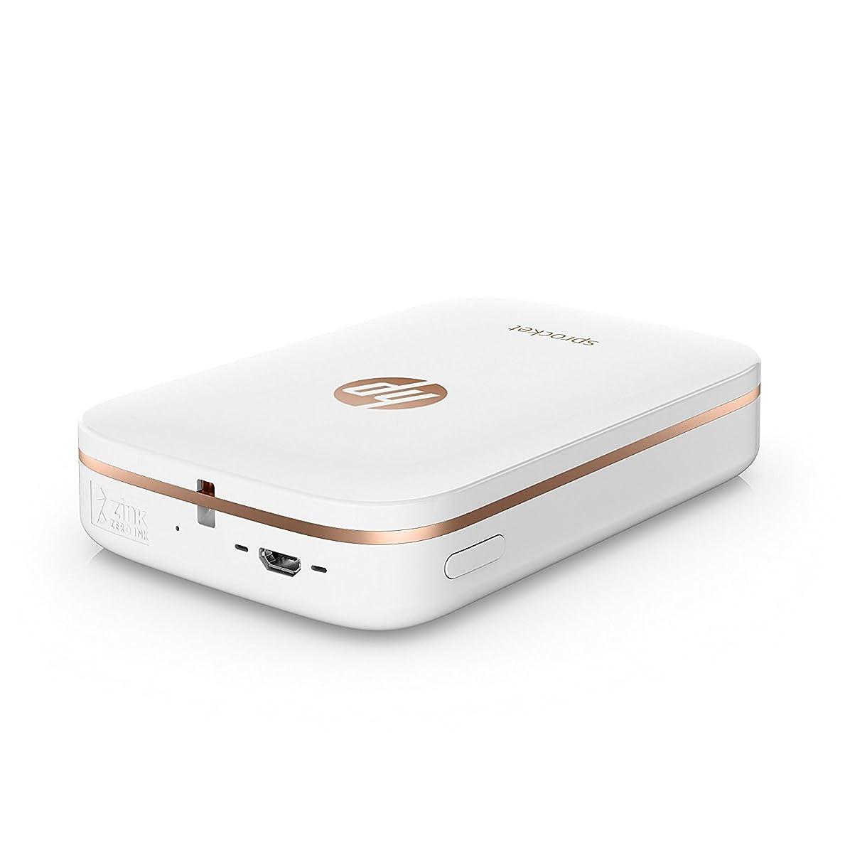クリーク嵐鑑定HP Sprocket Portable Photo Printer print social media photos スプロケットポータブルフォトプリンタプリントソーシャルメディア [並行輸入品]