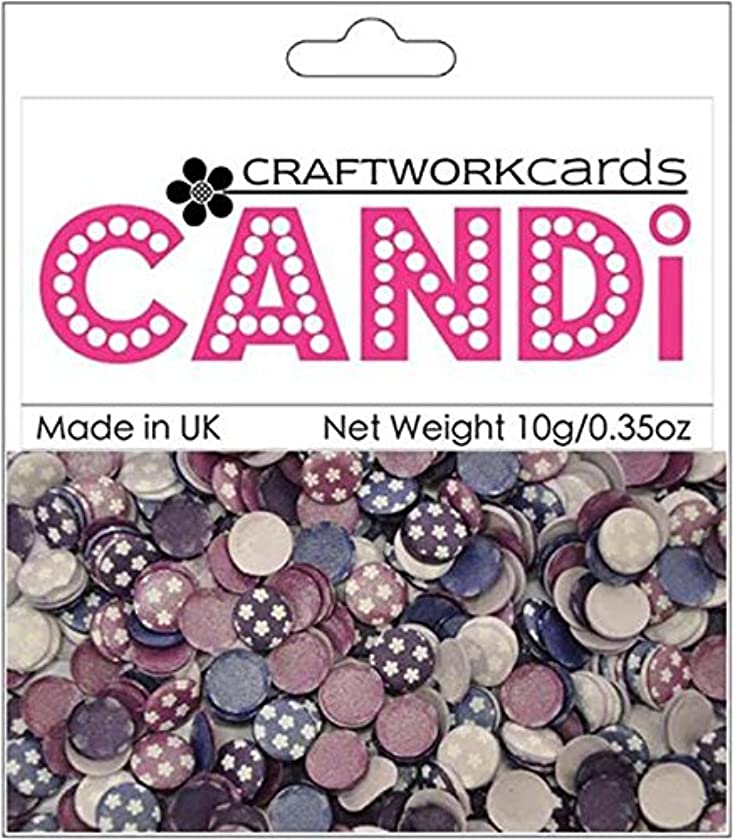 Craftwork Cards Candi Dot Printed Embellishments, 0.35-Ounce, Potpourri