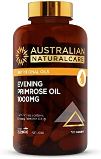 Australian NaturalCare - Nutritional Oils - 1000mg Evening Primrose Oil Capsules (120 Count)