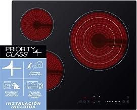Sauber - Vitrocerámica SEV-01-3 zonas de cocción - Ancho: 60cm - INSTALACIÓN EN EL DOMICILIO INCLUIDA