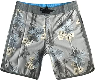 Men's Floral Print Sports Shorts Workout Shorts with Zippered Pocket and Adjustable Strings Training Bodybiulding Exercise...