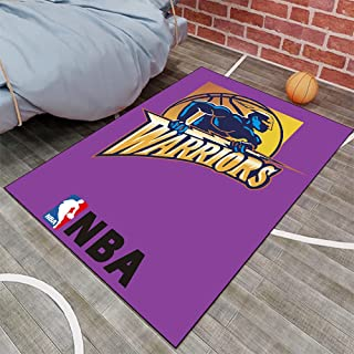 Tritow USA NBA Basketball Tapis NBA Cavaliers Logo Salon Tapis antidérapant Facile à Nettoyer Tapis de Zone d'impression 3...