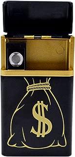 Monique Cigarette Case Cigarette Box Cigarette Holder USB Rechargeable Lighter