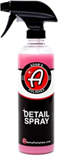 Adam's Detail Spray 16oz - Enhance Gloss, Depth, & Shine - Extends Protection With Wax Boosting Technology - Our Most Iconic Product, Outshine The Competition