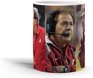 Nick Saban 11 Oz Coffee Mug