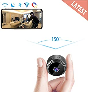 GXSLKWL Perfect Hidden Camera 1080P Home Security Nanny Camera Mini Hidden Camera, Super Night Vision Portable Small Wirel...