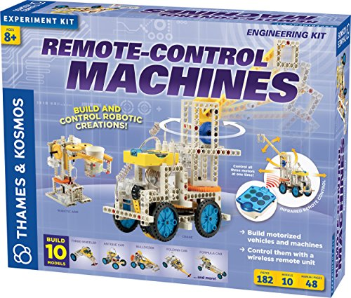 Remote-Control Machines (Construction+science)