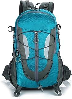 Mujer y Hombre 30L Mochila con Múltiples Almacenamiento Compartimiento para Senderismo Camping Viajes Montañismo Trekking o Escuela 29 x50 x18CM