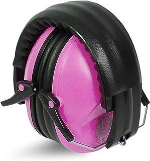 Champs diadema ajustable NRR 29 dB para caza de tiro Protectores de o/ídos de seguridad para reducci/ón de ruido protecci/ón auditiva para tiro incluye bolsa de transporte