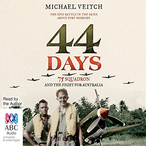 44 Days audiobook cover art