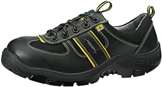 Abeba 32243–36Anatom Scarpe di sicurezza Basso, Nero, 32243-48