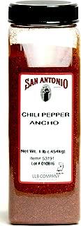 1-Pound Premium Ground Ancho Chile Pepper Chili Powder