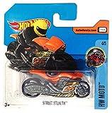 Mattel Hot Wheels - Sortiment 1:64 - Low Card (DVC03 - Street Stealth orange #25 (HW Moto 4/5))