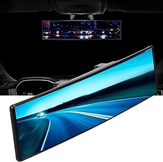 RedKids Panorama Rückspiegel Auto Innen Rückspiegel Universal Innenspiegel Blend Winkeleinstellung Innen Rückspiegel Anti Blend Winkeleinstellung Rückspiegel