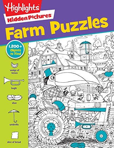 Highlights Hidden Pictures® Favorite Farm Puzzles (Favorite Hidden Pictures®)