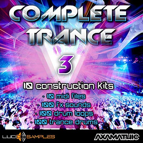 Complete Trance Vol. 3 - 10 strongly developed Trance Construction Kits | AIFF + MIDI Files | DVD non Box