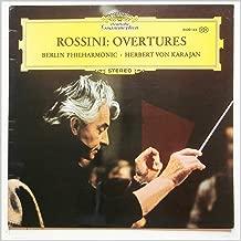 Rossini: Ouverturen (Overtures). Berliner Philharmoniker. Herbert von Karajan, Conductor.