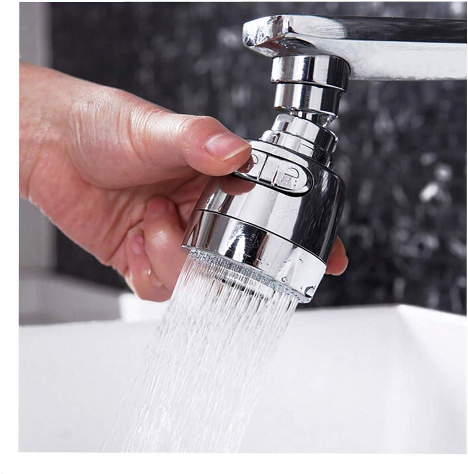 Keepfit 360/° Rotate Swivel Water Saving Tap Aerator Diffuser Faucet Nozzle Filter Adapter
