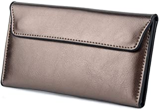 OETY Fashion Genuine Leather Women Wallet Long Cowhide Multiple Cards Holder Clutch Female Purse Standard Wallets
