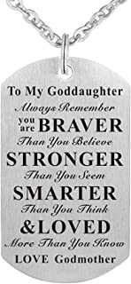 to my goddaughter