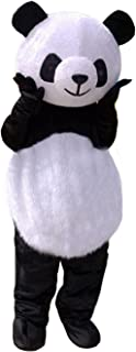 Huiyankej Panda Mascot Costume Panda Costume Adult Halloween Fancy Dress