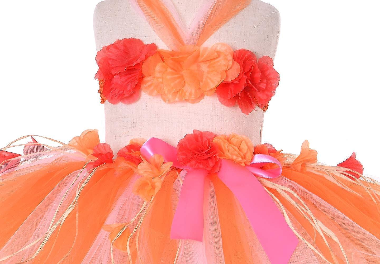 2 Sizes: Girls,Baby Birthday Beach Party Tutu Dreams 3pcs Hawaiian Hula Luau Tutu Set