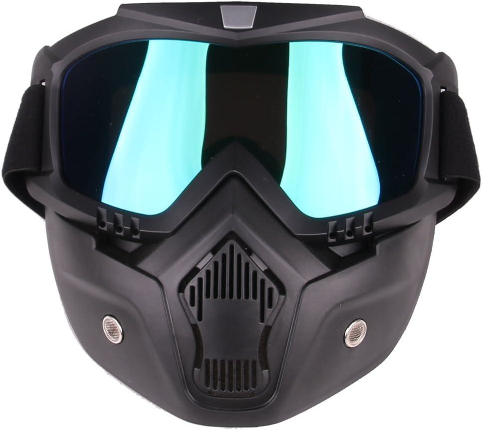 TRCS Máscara táctica Soft Bullet Dart Espejo de protección para Nerf, Nerf, Nerf, Halloween, CS Partyspiel-Bunt