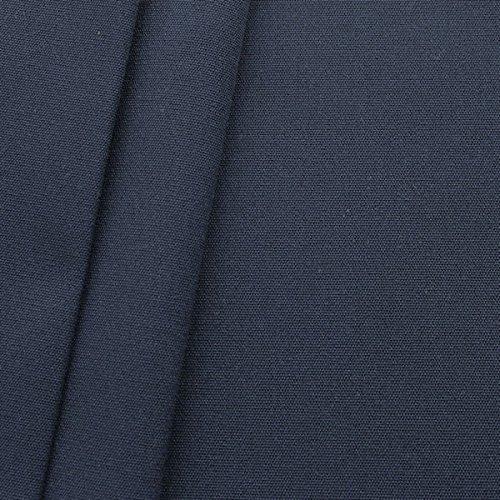 STOFFKONTOR Markisenstoff Outdoorstoff Breite 160 cm Meterware Dunkel-Blau