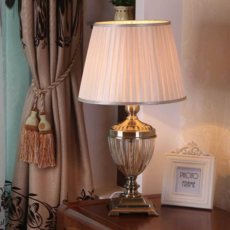 Europäischer Stil Retro Retro Retro Cognac Farbe Glas Tischleuchte Wohnzimmer Schlafzimmer Nachttischlampe XT3025 B07DSXN2JN     | Erste Qualität  f4b088