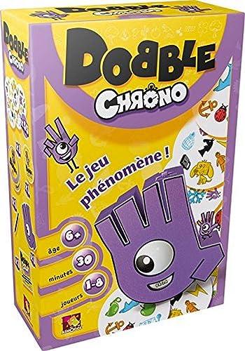 Dobble Chrono - Asmodee - Jeu de société - Jeu d'ambiance - Jeu d'Action et de Réflexe