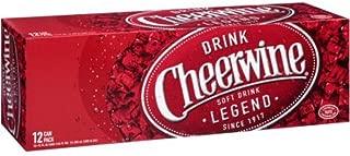 Cheerwine Cherry Soda, 12 oz (48 Cans)