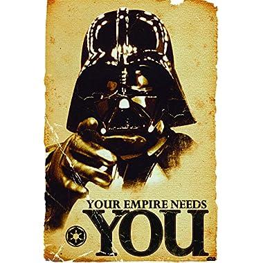 Trends International 24X36 Star Wars Premium Wall Poster, 22.375  x 34