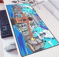 One Piece ゲーミングマウスパッド拡張大型キーボード| 900 x 400 mm | XXLマウスパッド|大型テーブルパッド|完璧な精度と速度-A_700X300X3mm