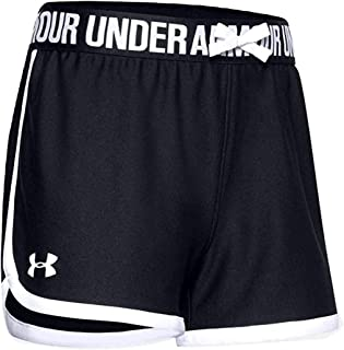 Under Armour Girls' Play Up Solid Workout Gym Shorts