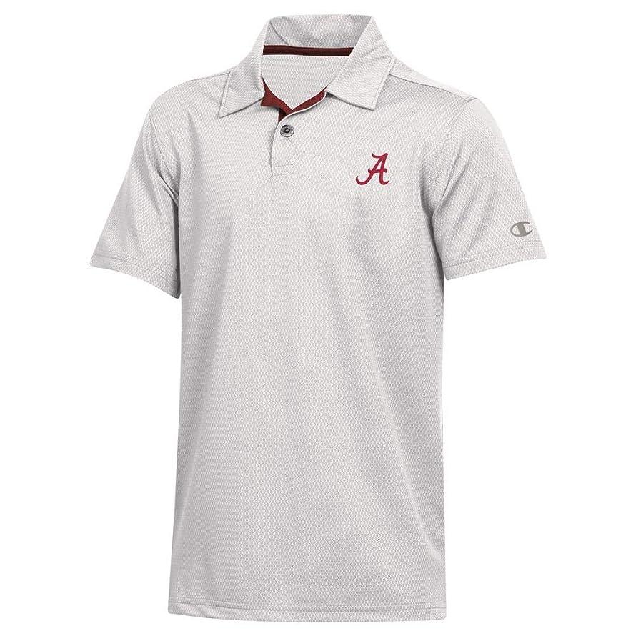 Champion Youth Alabama Crimson Tide Bama Polo Short Sleeve Polo