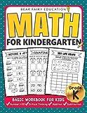 Math for Kindergarten : Basic Workbook for Kids Grade K: Kindergarten Math book,...
